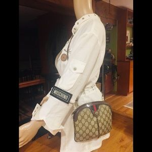 Gucci Bags - 🎁🎄V RARE sought after GG CROSSBODY EUC w/ DUSTER